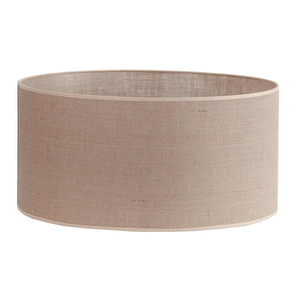 Pantalla cilindrica saco marron