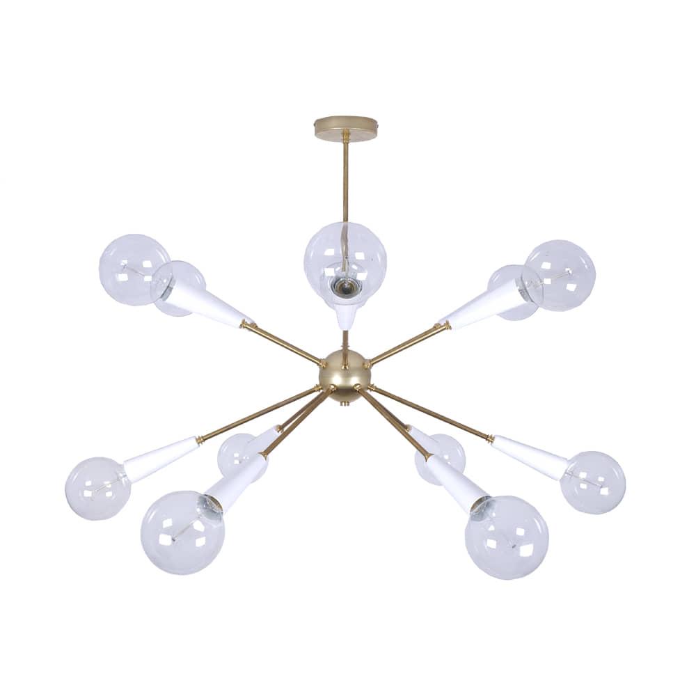lámpara sputnik white - borgia conti