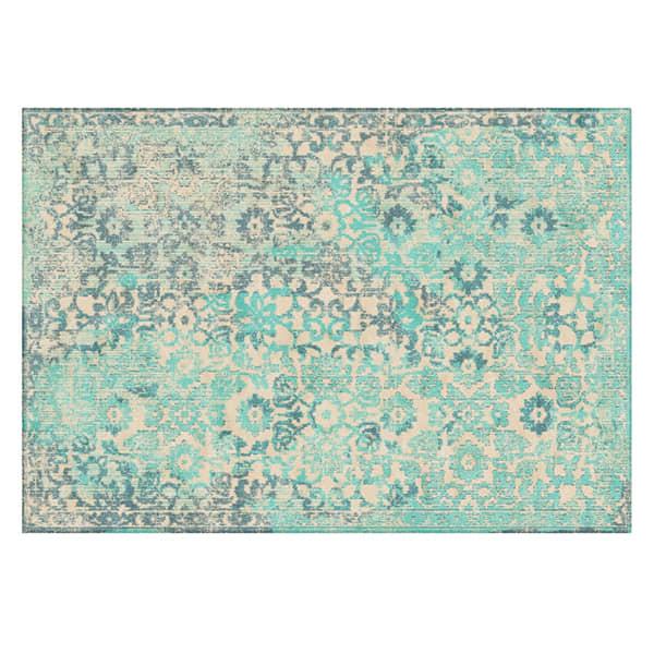 alfombra-clásica-color-turquesa