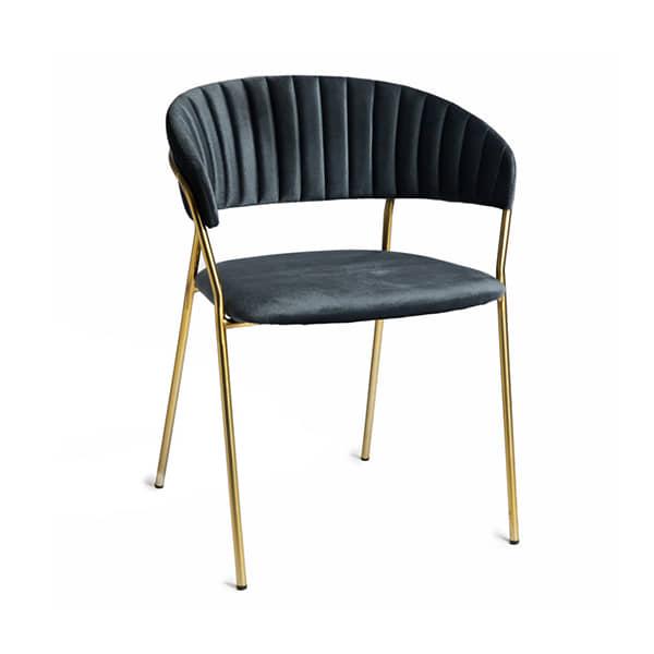 silla-diseño-borgiaconti-metal-terciopelo-azul