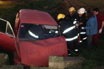 Accidente en Ruta 8, km 133