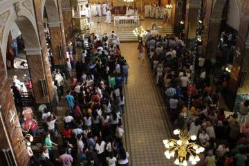 Misa de clausura.Foto Oficial Parroquia San Antonio