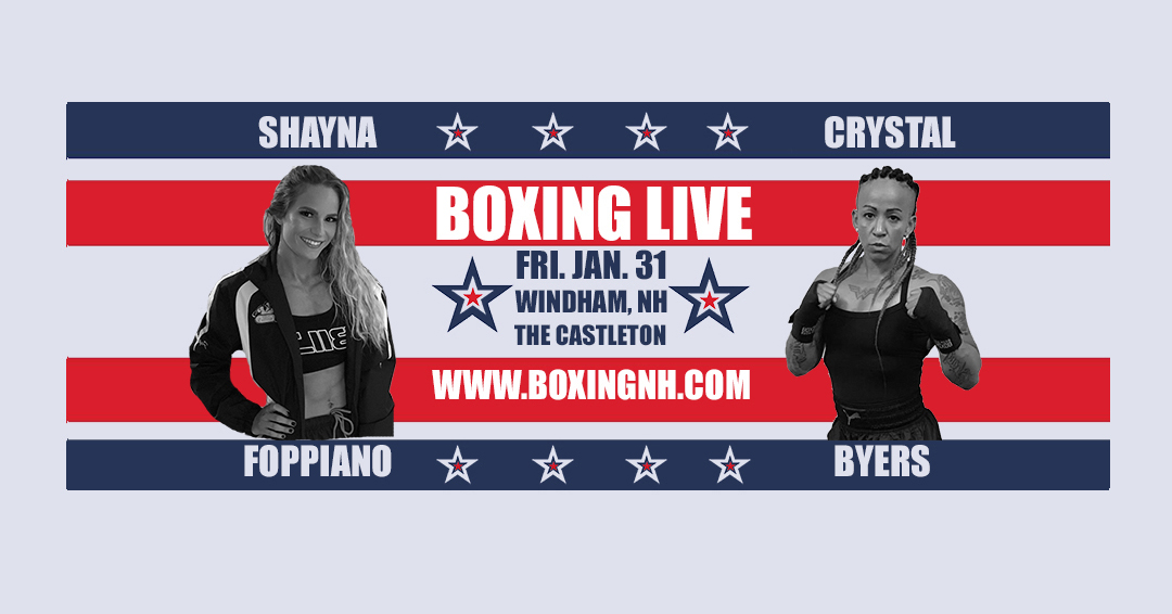 women boxing Windham NH Castleton fight January 31 tickets event