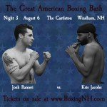 Boxing Windham NH August 6 tickets event Castleton