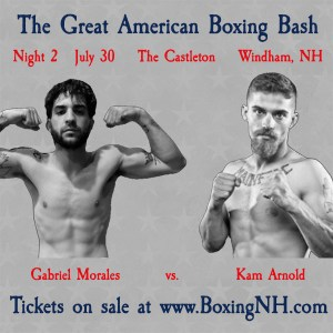 Boxing Windham NH Castleton tickets event pro amateur golden gloves fight Maine July 30 Derry Somersworth