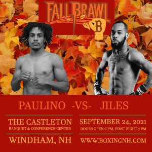 Boxing Fall Brawl September 24 Windham NH Castleton tickets event