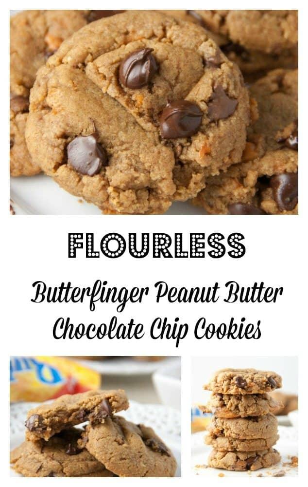 Flourless Butterfinger Peanut Butter Chocolate Chip ...