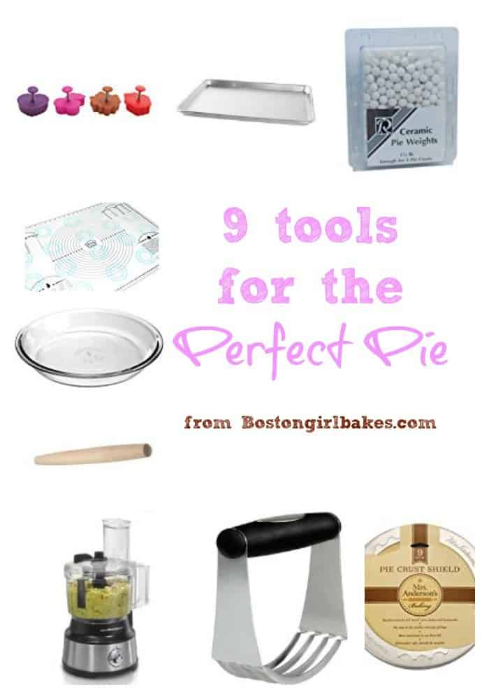 9 tools for the perfect pie