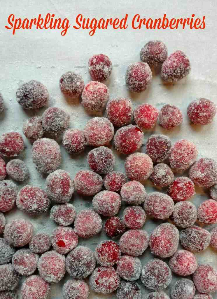 Sparkling Sugared Cranberries