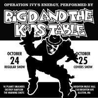Big D and the Kids Table Announce Halloween Shows and Operation Ivy Cover Set