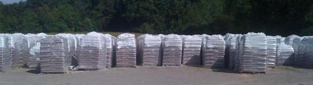woodpellet pallet tons