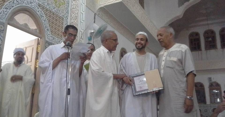 امسية قرانية  في مدينة بن سرور بحضور دكاترة ومشايخ