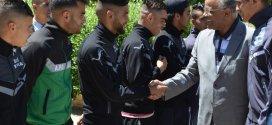 مأدبة غداء والى ولاية المسيلة  السيد محمد بوسماحة على شرف أمال أمل بوسعادة