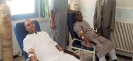 حملة تبرع بالدم من طرف جمعيات بمستشفى رزيق ببوسعادة