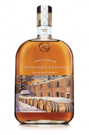 Woodford Reserve 2015 Holiday Themed Bottle Is Quite Scenic