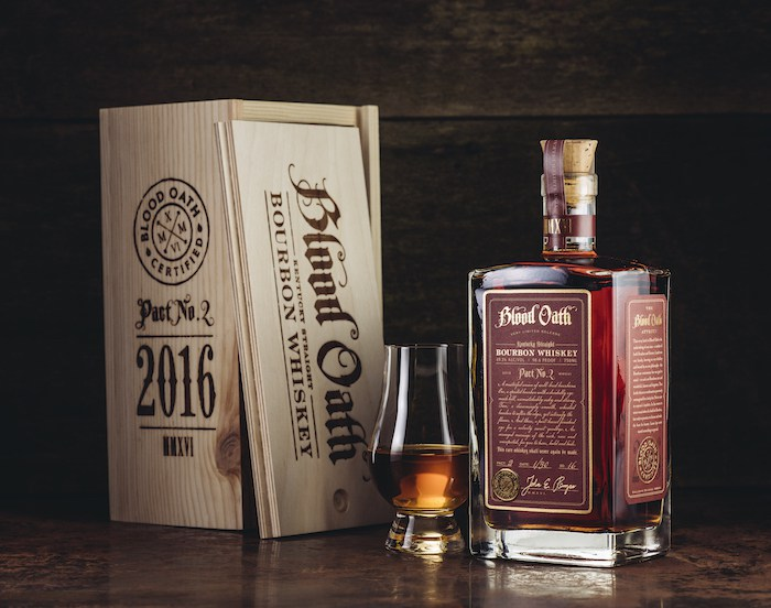 New: Luxco Blood Oath Pact No. 2 Bourbon