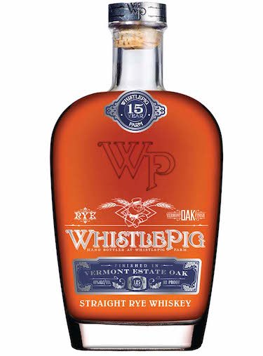 Tasted: WhistlePig 15 Year Old Vermont Oak Estate Rye