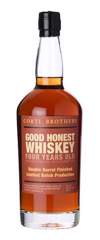 New: Corti Brothers Good Honest Whiskey