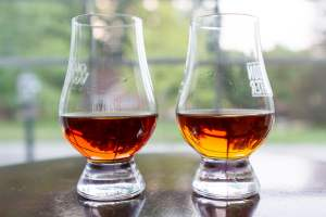 Stagg Jr Compared to George T. Stagg Bourbon Photo
