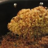 Bulgur, vermicelli noodles, and onions, uncooked