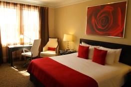 Typical Artmore Hotel Bedroom