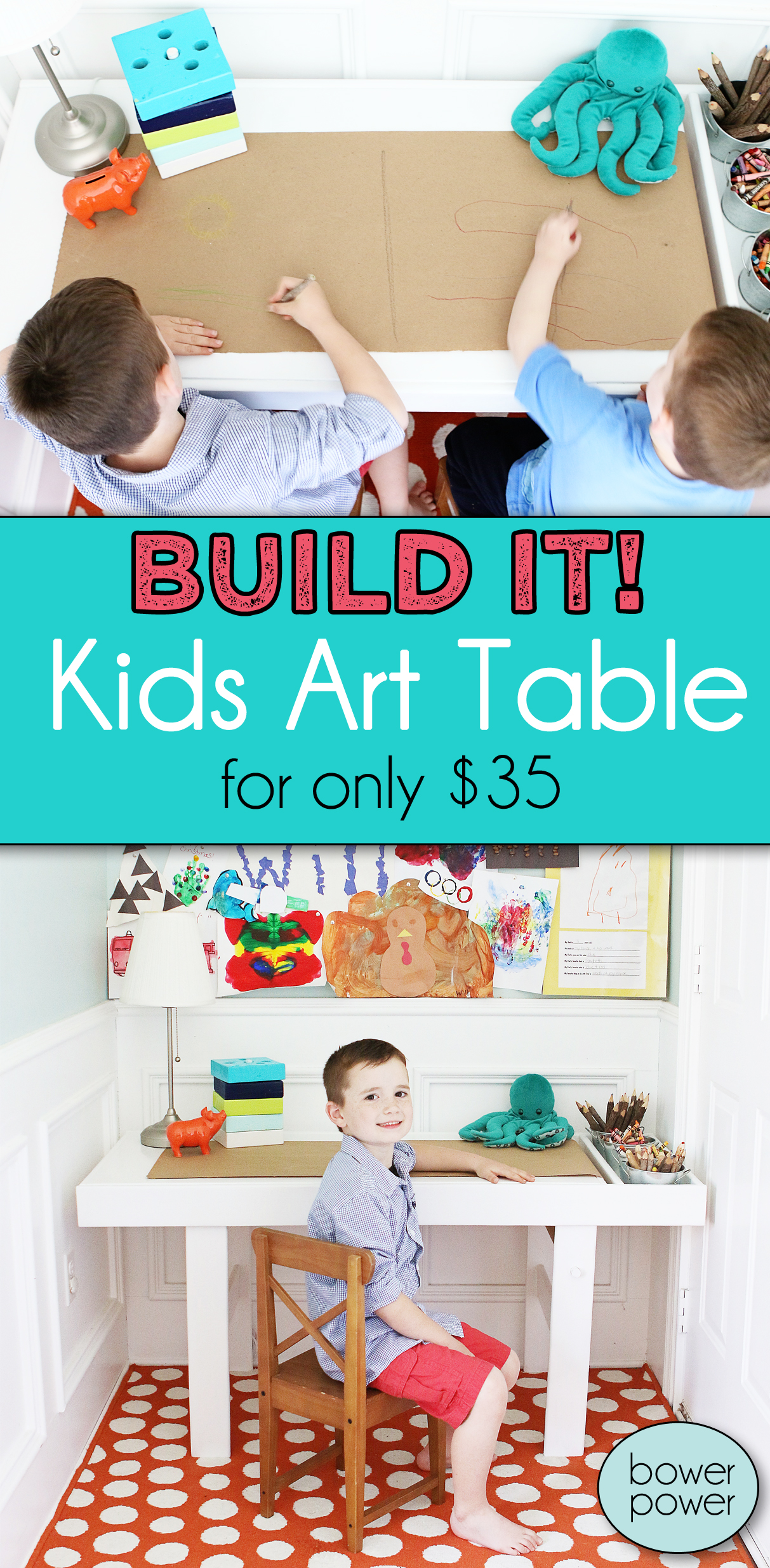 Fullsize Of Kids Art Table