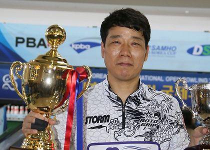 KPBA's Chae Jun Hee wins 18th Sam Ho Korea Cup
