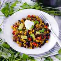 Spicy Quinoa and Black Beans