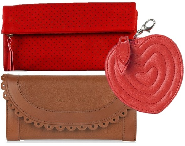 purse nat nin porte monnaie new look red