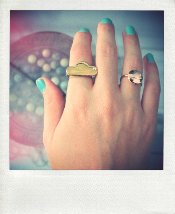 ring rings bagues adeline affre nuage or gold agatha pink rose