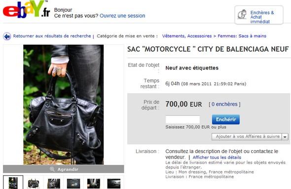 ebay balenciaga bag