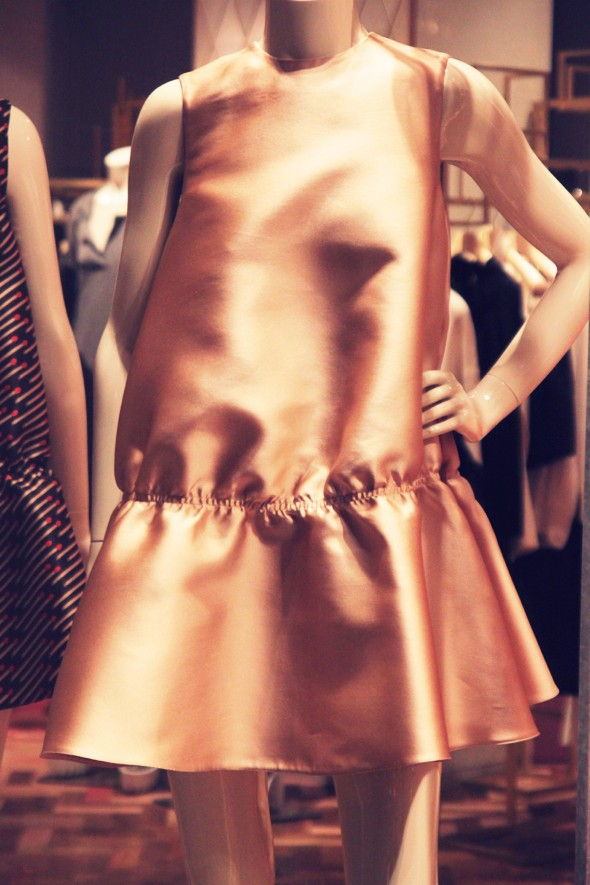 stella mccartney dress fall winter 2013 2014 _effected