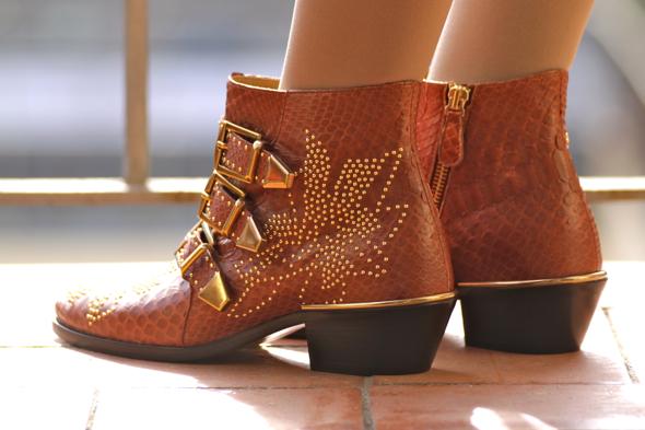 _susanna python shoes boots bottines
