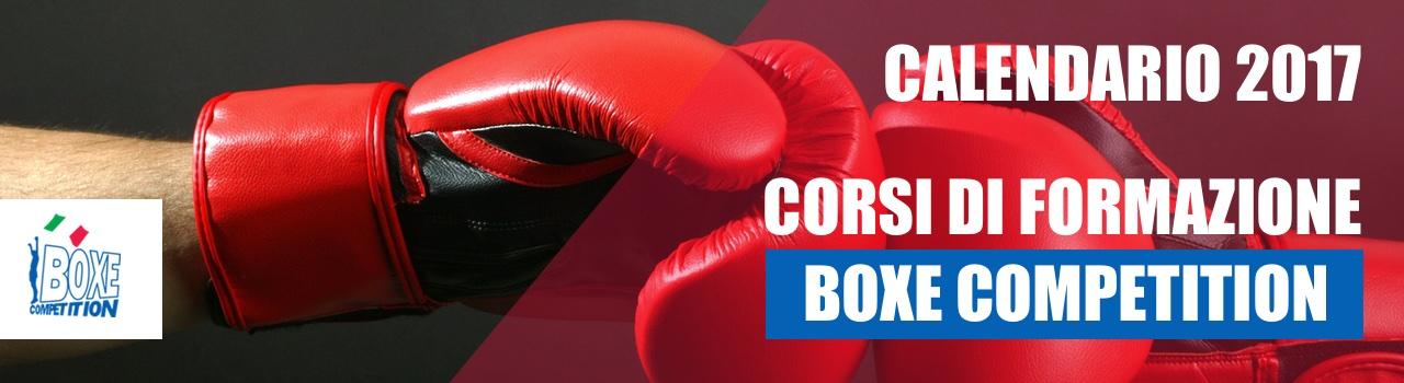 Calendario Corsi 2017 – Boxe Competition F.P.I.