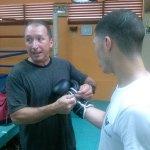 9 oct 2013 Rocky Martinez training and pre weigh in for Mikey Garcia 3