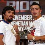 Manny Pacquiao vs Brandon Rios Presser