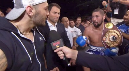Bellew Cleverly II Bellew vs. Clevely II  tony bellew nathan cleverly