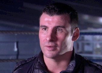 photo: joe calzaghe boxing