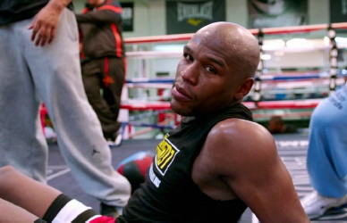 photo: floyd mayweather jr