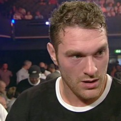 UK Boxing  tyson fury