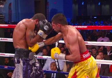 Khan vs. Peterson  lamont peterson amir khan