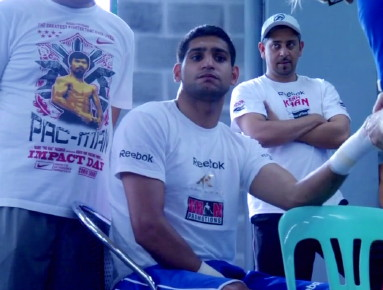photo: danny garcia amir khan