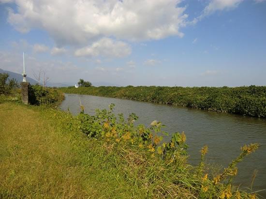 濃尾平野の水路
