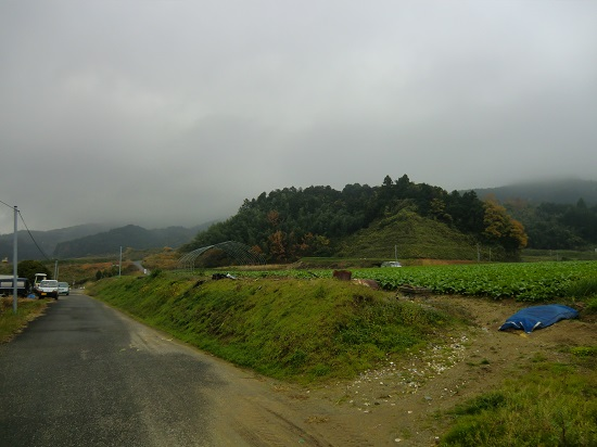 ガスる山々
