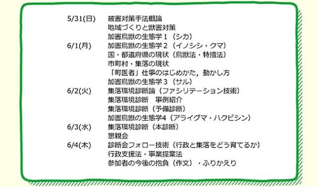けもの塾2015