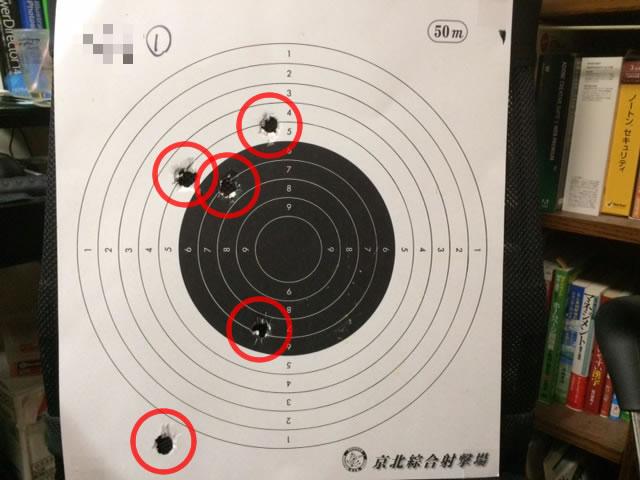 初RT射撃結果
