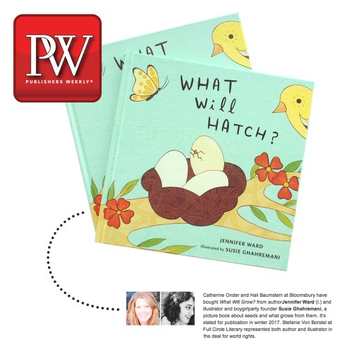 Susie Ghahremani in Publishers Weekly