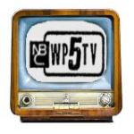 1950s logo of WPTV News Channel 5 NBC affiliate
