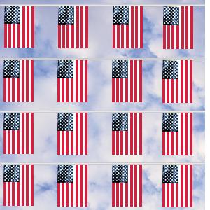 US Flag Pennant