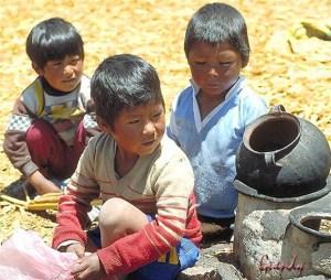 bambini lavoratori in Bolivia